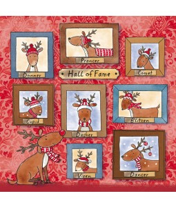 Hall of Fame - Small Christmas Card Pack