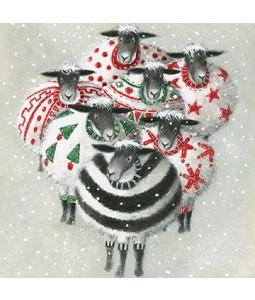 Baa Baa Humbug - Small Christmas Card Pack