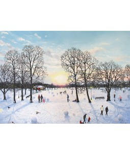 Sunset in the Park - Christmas Card Pack