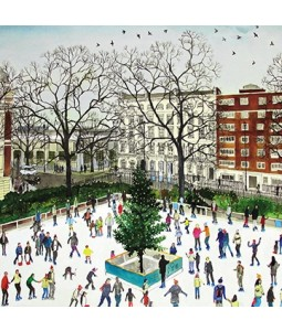 City Ice Rink - Small Christmas Card Pack
