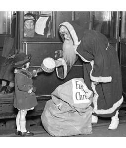 The Santa Express  - Small Christmas Card Pack