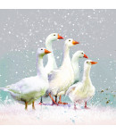 Flock of Geese - Small Christmas Card Pack
