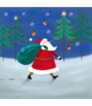 Santa's Delivery - Small Christmas Card Pack