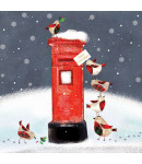 Robin Mail - Small Christmas Card Pack