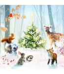Woodland Gathering - Large Christmas Card Pack