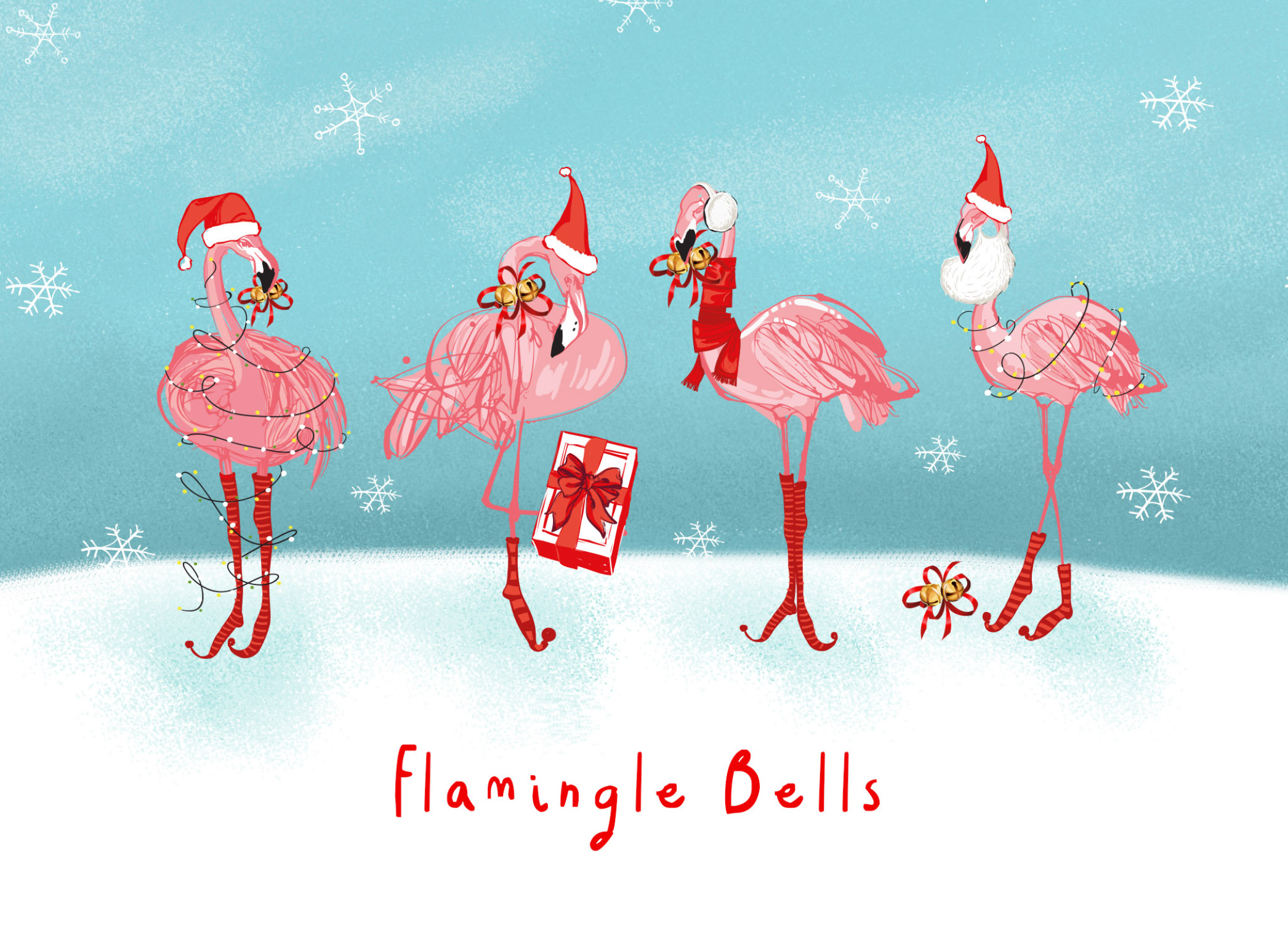 Flamingle Bells -Contemporary